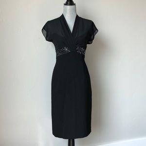 Dresses & Skirts - Black cocktail dress DVF diane von furstenberg